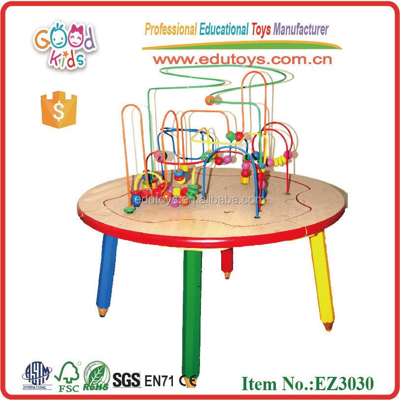 Kinderen houten kralen kralen rek tafel bureau andere speelgoed hobby 39 s product id 398408379 - Houten bureau voor kinderen ...