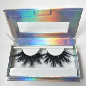 Custom Eyelash Packaging Box Maynice New Design 25mm 3d Mink Eyelashes