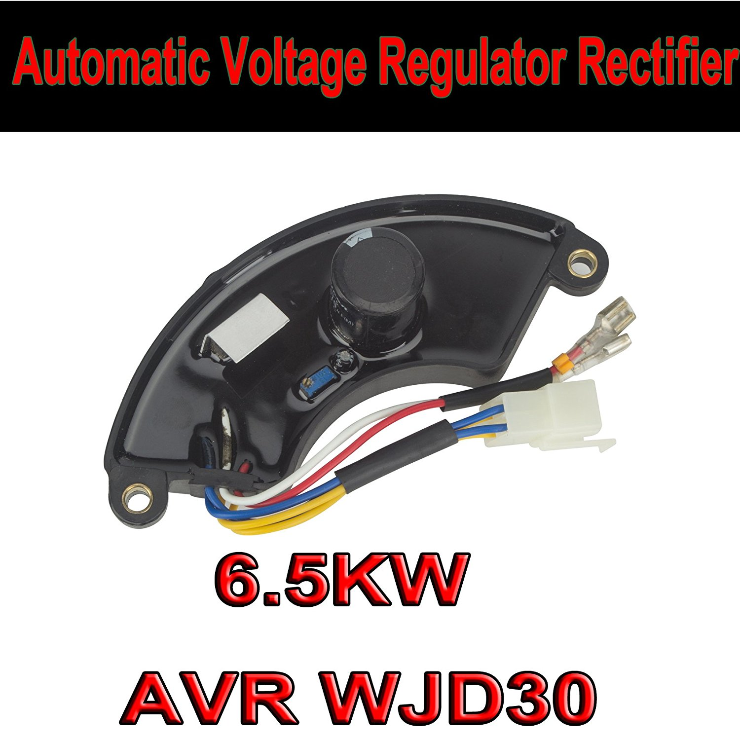 DODOING 6.5KW Generator Automatic Voltage Regulator Rectifier AVR For 5KW-7KW WJD30