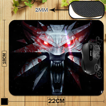 The Witcher 3 Wild Hunt Game Logo Professional Printing Mouse Pad for Computer Laptop Mousemat Free &Drop Shipping