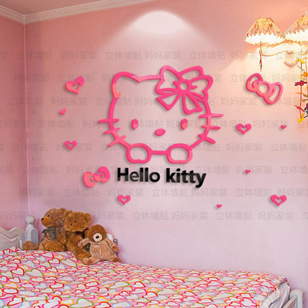 Cari Terbaik Stiker Dinding Kamar Hello Kitty Produsen Dan Stiker