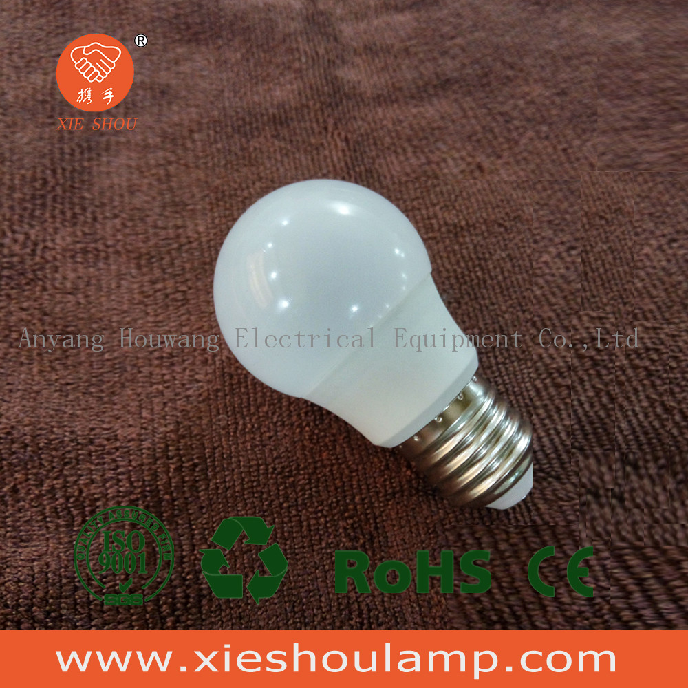 6w led light bulb e27 henan houwang hot sale brightness high quality