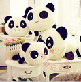 2016 smiling giant panda plush doll pillow the creative children s toys birthday gift Prone To