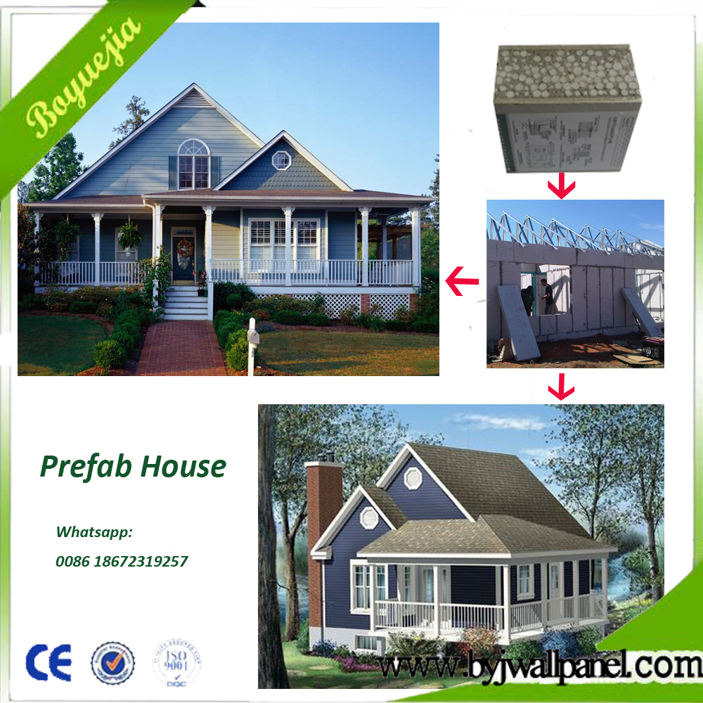 Fast Construction Cheap prefabricated house homes , Real estate china prefab house