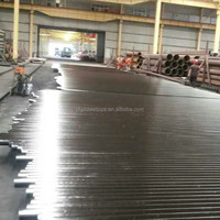 API 5L Carbon steel seamless pipe with black painting