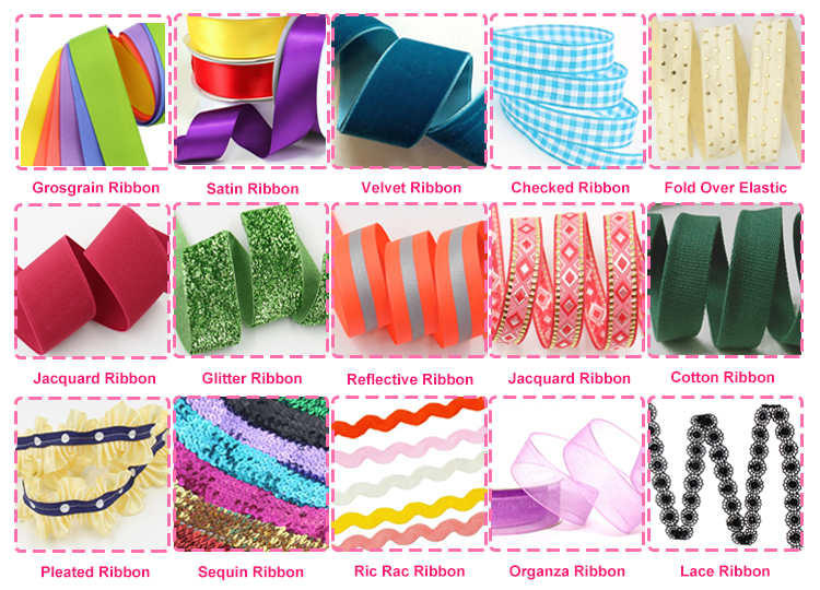 nylon grosgrain ribbons character grosgrain ribbon 75mm