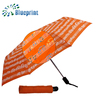 Novelty Full Musical Notes Print And Auto 3 Section Color Changing Umbrella