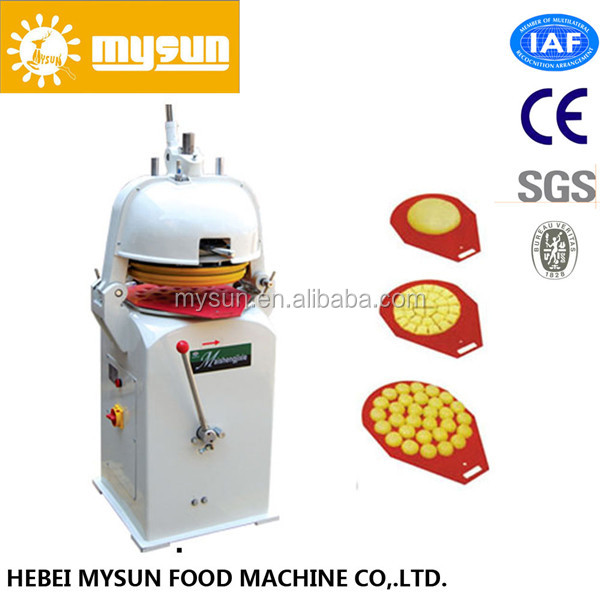 automatic continuous dough divider and rounder