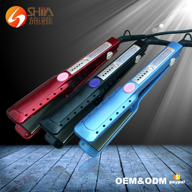 Professional Led Titanium Personalized Her Styler Hair Straightener