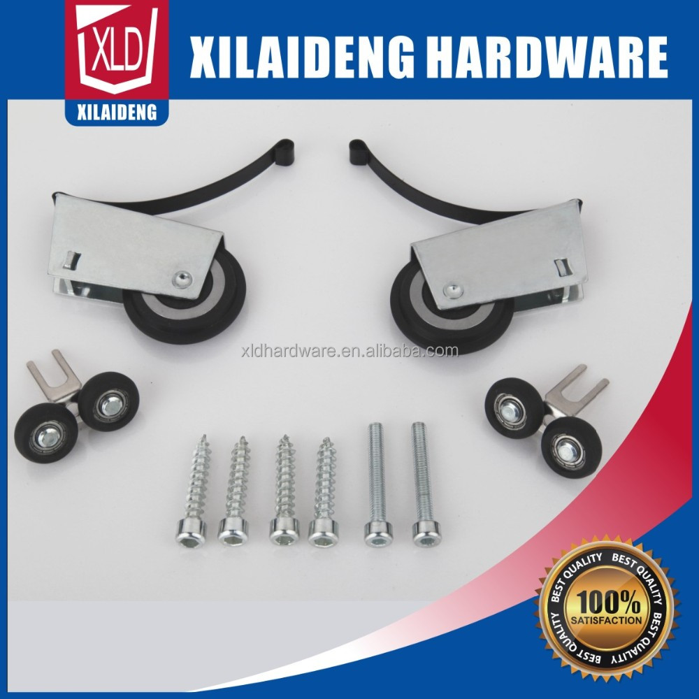 Sliding door rollers/wardrobe rollers/furniture wheels with mute silde