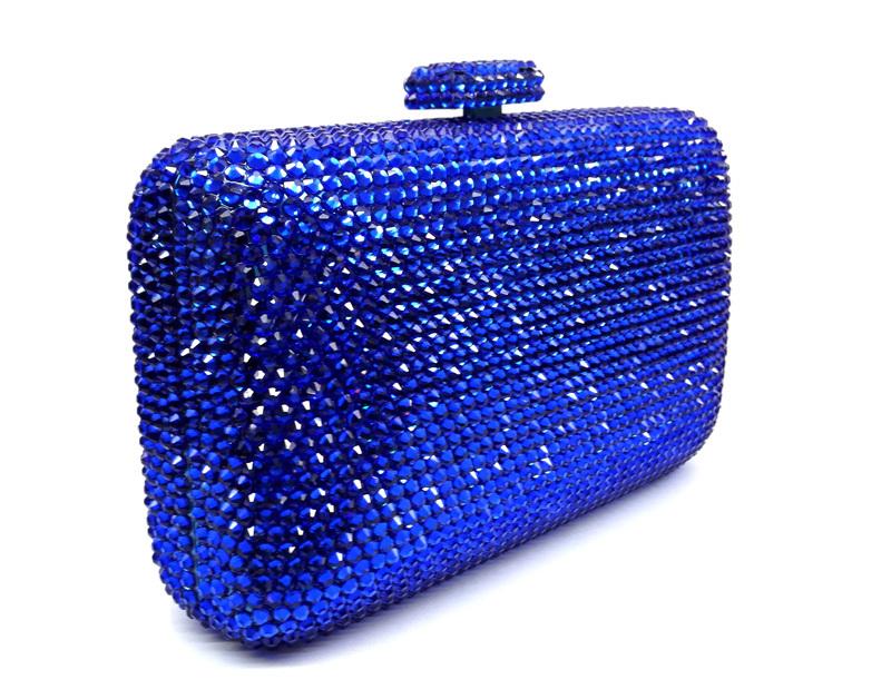 Cheap Royal Blue Clutch Bag Ysl Black Purse