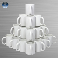 Factory Wholesale 11oz White ceramic Sublimation Mug For Sublimation