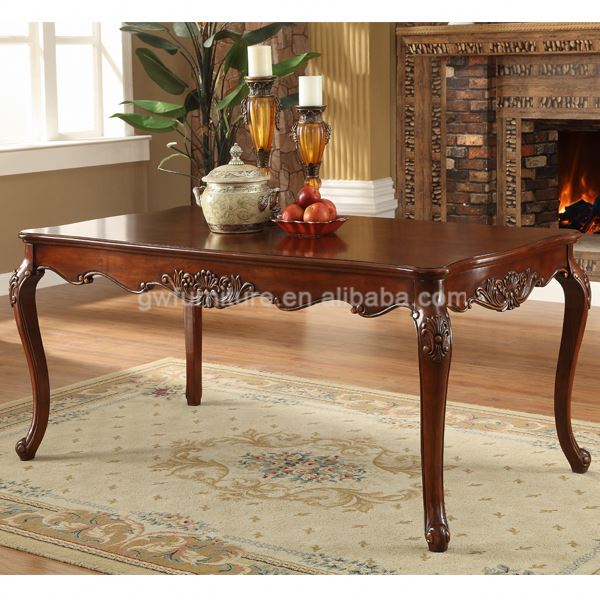 jali chunky dining table