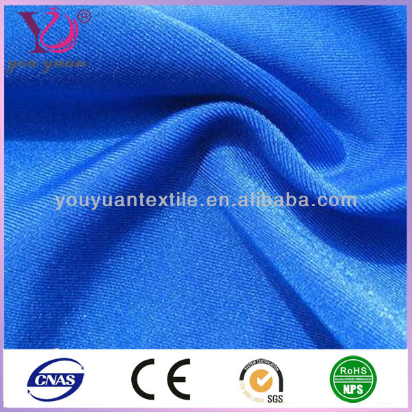 China manufacturer fabrics stretch fabric lycra nylon spandex swimwear fabric