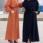 OEM elegant fashion design islamic clothing abaya muslim women clothing