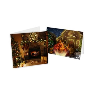 ThreeD hot sale pet lenticular 3d greeting cards for thanksgiving