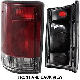 FORD ECONOLINE VAN 04-11 TAIL LAMP LH, Assembly