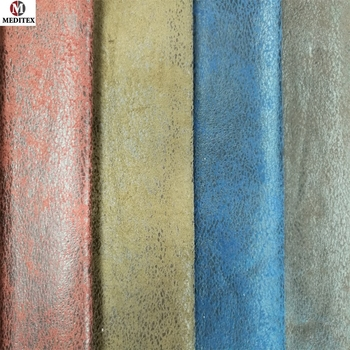 100 Polyester Fabric Suede Sofa