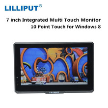7 inch Capacitive Touch HD Car Monitor With HDMI VGA Input