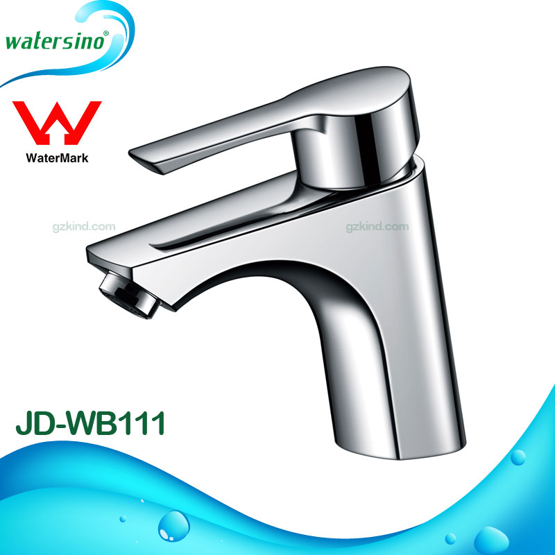 Basin faucet Chrome plated brass basin faucets Watermark approved basin mixer tap