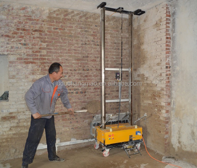 Wall Plaster Products : Factory supply cement wall plastering machine price buy