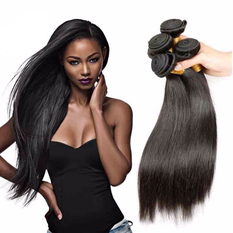 Top high quality unprocessed cheap 9A grade remy mink straight virgin human cuticle aligned brazilian hair from very young girls