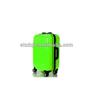 travel trolley case popular plastic 4 wheel luggage