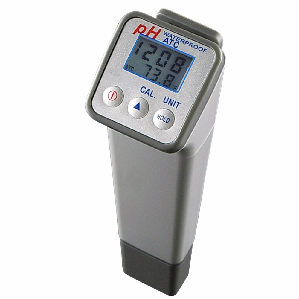 Temperature High Accuracy +/-0.05PH with Replaceable Electrode/ Professional Handheld Waterproof Digital PH <strong>meter</strong>