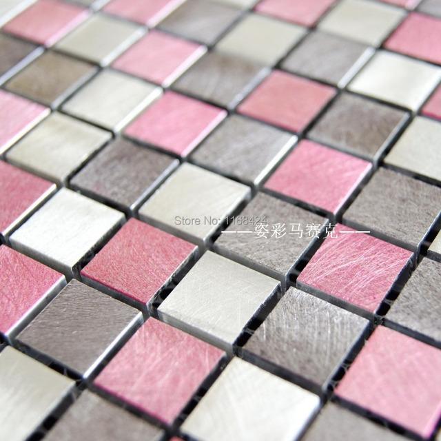 Aliexpress Com Comprar Aleaci 243 N De Aluminio De Color Rosa