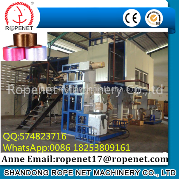 pp multifilament filter yarn fdy spinning machine
