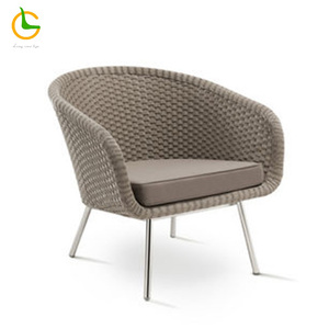 elegant modern outdoor garden coffee furniture rattan dining chair