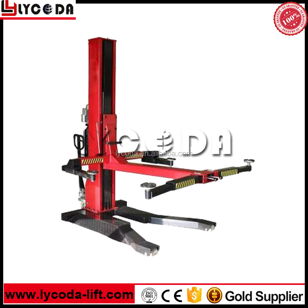 hydraulic single post car lift hydraulic single post car lift