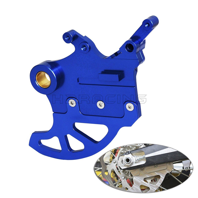 H2RACING Motorcycle Blue Rear Brake Disc Guard Protector for Yamaha WR250R WR250 2009-2016 WR250F WR450F YZ125 2006-2016 YZ250F YZ450F 2006-2008 YZ250 2006-2015 YZ250FX 2015 WR250X 2013-2014