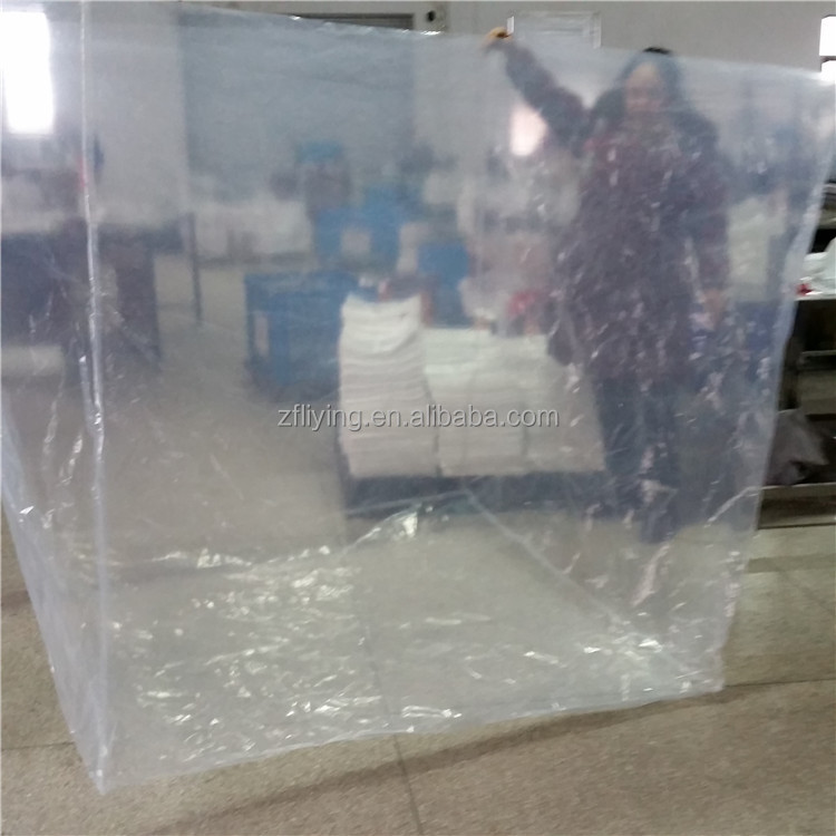 Waterproof plastic bag/Low density polyethylene huge carton liners, 1.5mx1.5mx1.5m