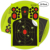 Factory Custom Shooting Splatter Targets Triple Silhouette Reactive Shooting Target