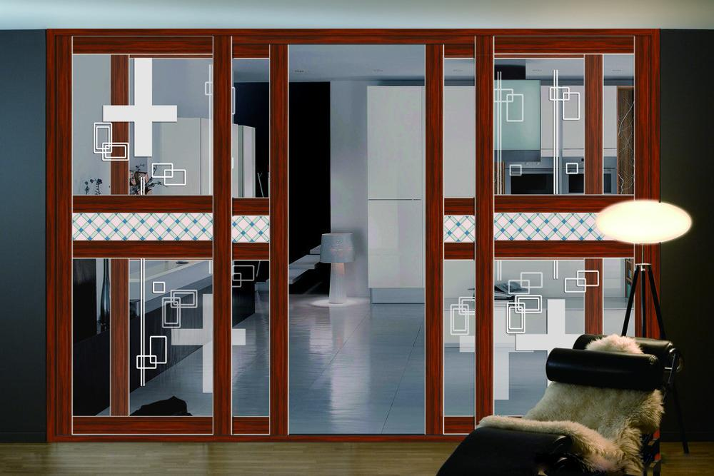 Qatar Style Aluminium Sliding Door Tempered Glass Half Tempered Glass - Buy  Best Price To Qatar Style Door,Aluminium Frame,Sliding Door Product on
