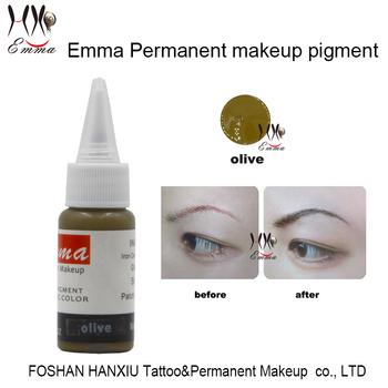 Emma Semi-permanent Makeup Ink Oliven Für Microblade Nadel ...