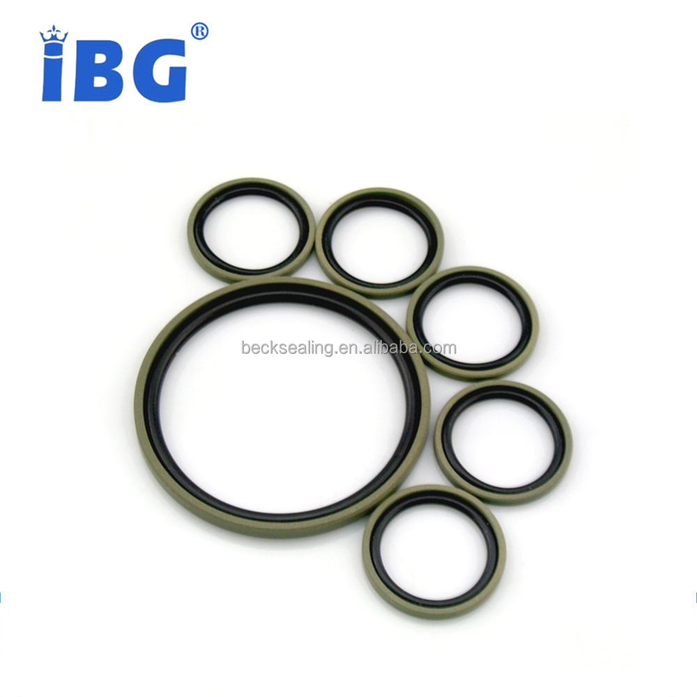 PTFE Rubber Filled Bronze Powder Glyd Ring Seals