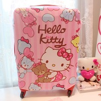 Hello kitty girl cartoon carrier cover anti-dust carrier cover luggage cover