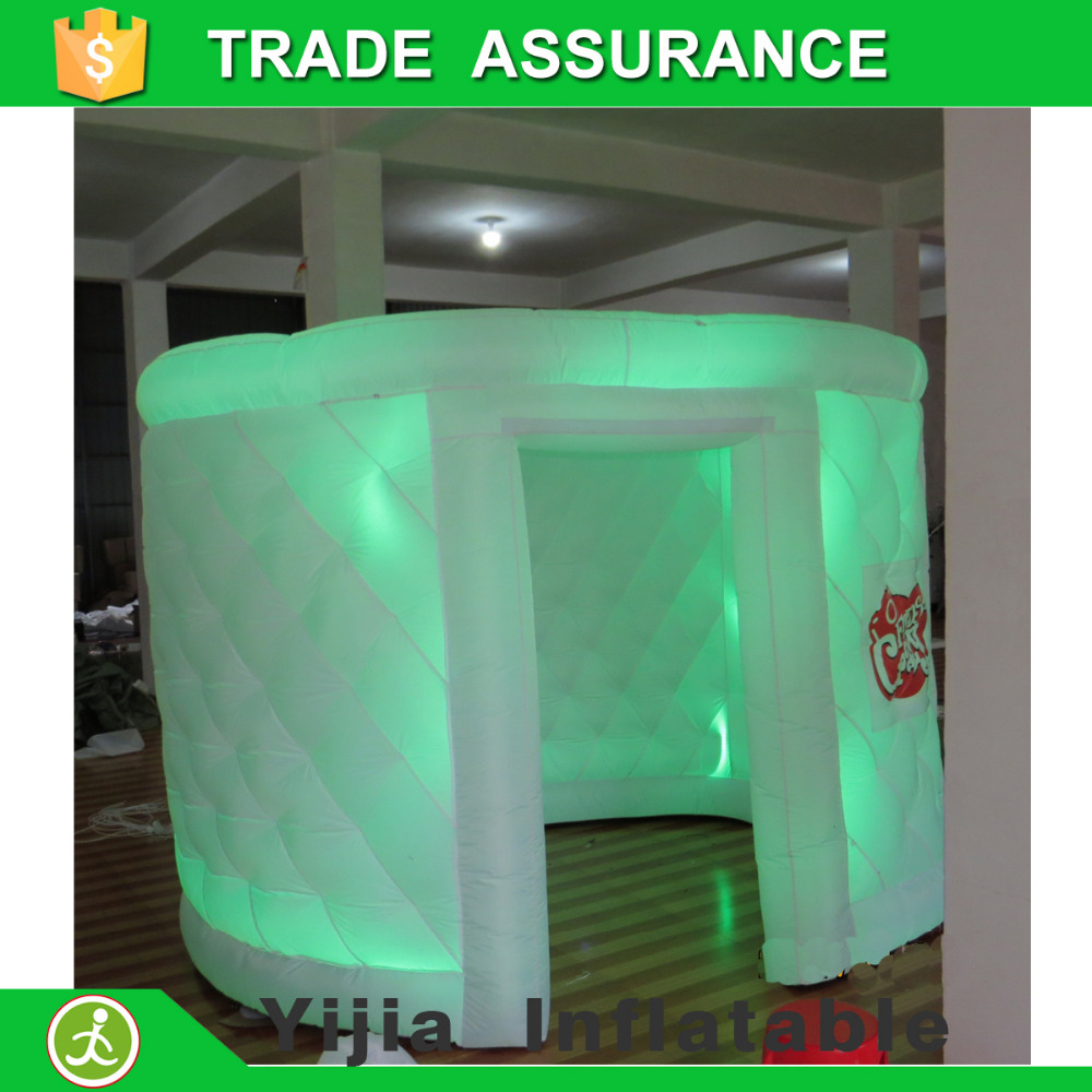 new design <strong>inflatable</strong> used LED photo booth for weddings