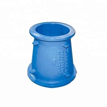 Ductile iron pipe fitting eccentric reducer