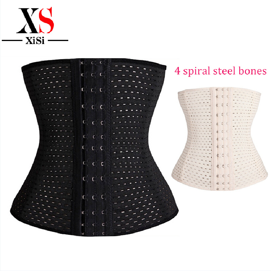 64ba3eb88a7 Get Quotations · women waist training corsets for sale black body shaper  Underbust Corset plus steel boning slimming shapewear