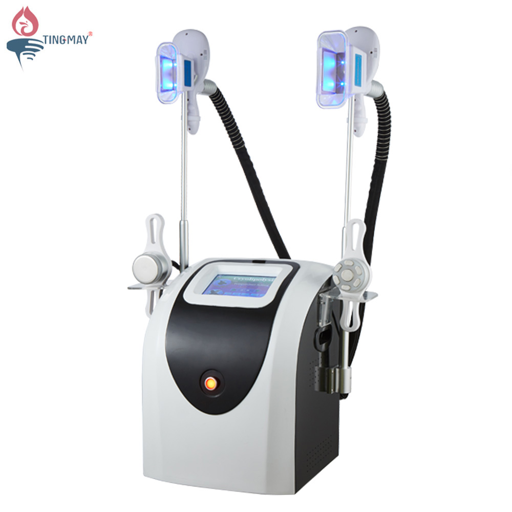 Tingmay TM-908D cryolipolysis 40k cavitation multi-polar rf multifunctional body shaper slimming machine