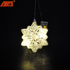 Wholesale large giant white hanging glitter glass xmas christmas ornament decoration snowflake