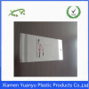 Promotional Standard Thick Clear OPP Flexo printing recyclable self adhesive bag.