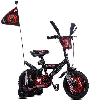 cd99edbe3 Bicicleta da bicicleta da bicicleta do homem-aranha de 12 polegadas com a  bicicleta das