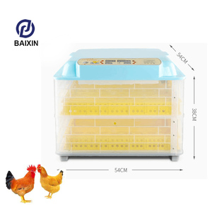 96 Egg Incubator with Automatic Egg Turning and Digital Temperature Control Poultry Auto-Turning Egg Incubator Poultry