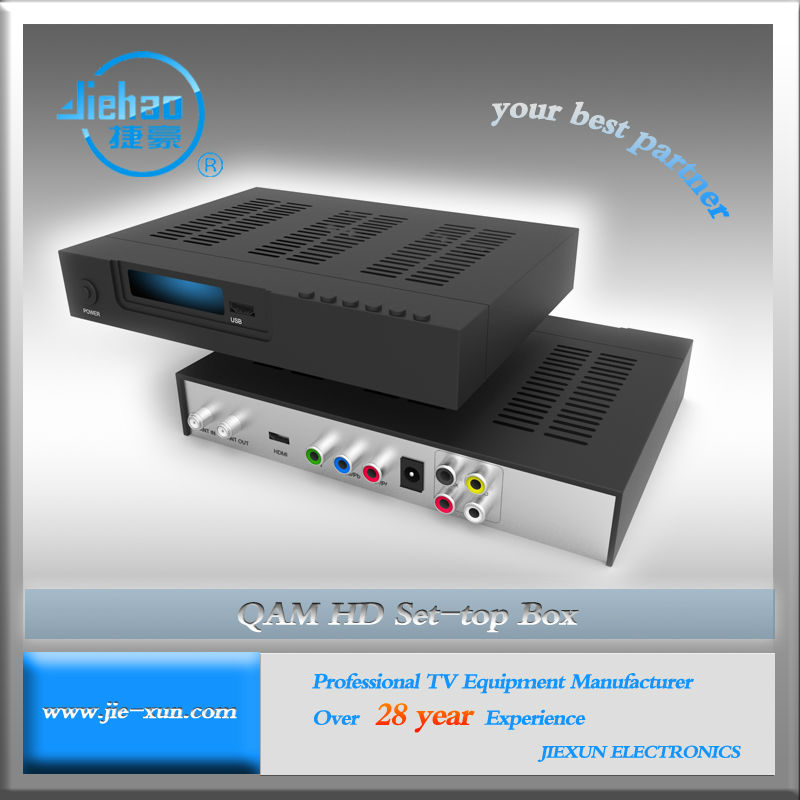 DVB C QAM HD Digital TV Top Box
