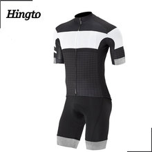 China supplier cycling clothing specialized cycling jersey top and padded bib shorts