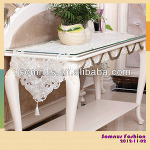"Somnus Fashion 2013 Wedding Embroidery Fancy Lace Table Runner For Weddings 16""*72"""